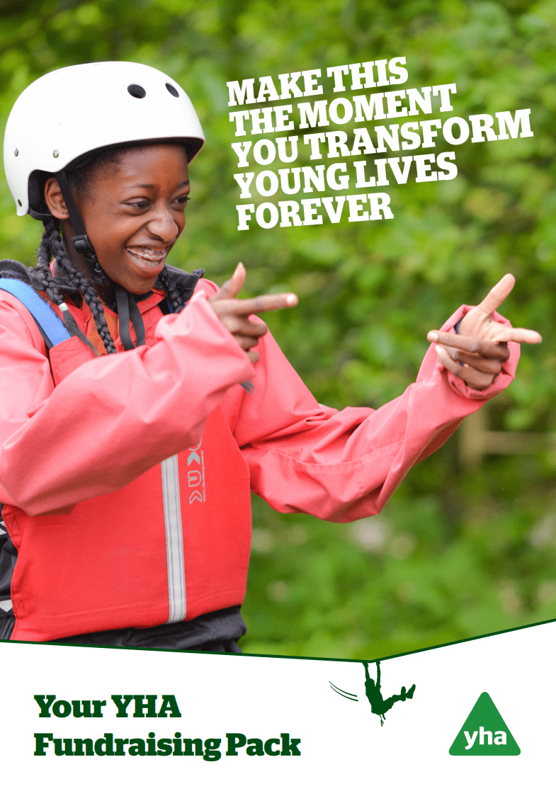 Download the YHA Fundraising Pack