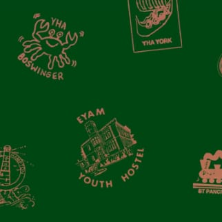 YHA Stamp book