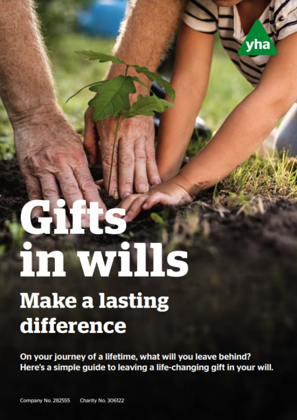 Gifts in wills guide cover